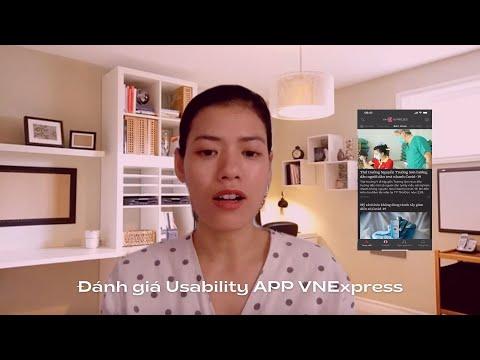 Đánh giá khả năng sử dụng của app VnExpress
