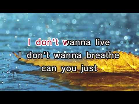 Ashanti  Rain On Me Karaoke and Lyrics Version