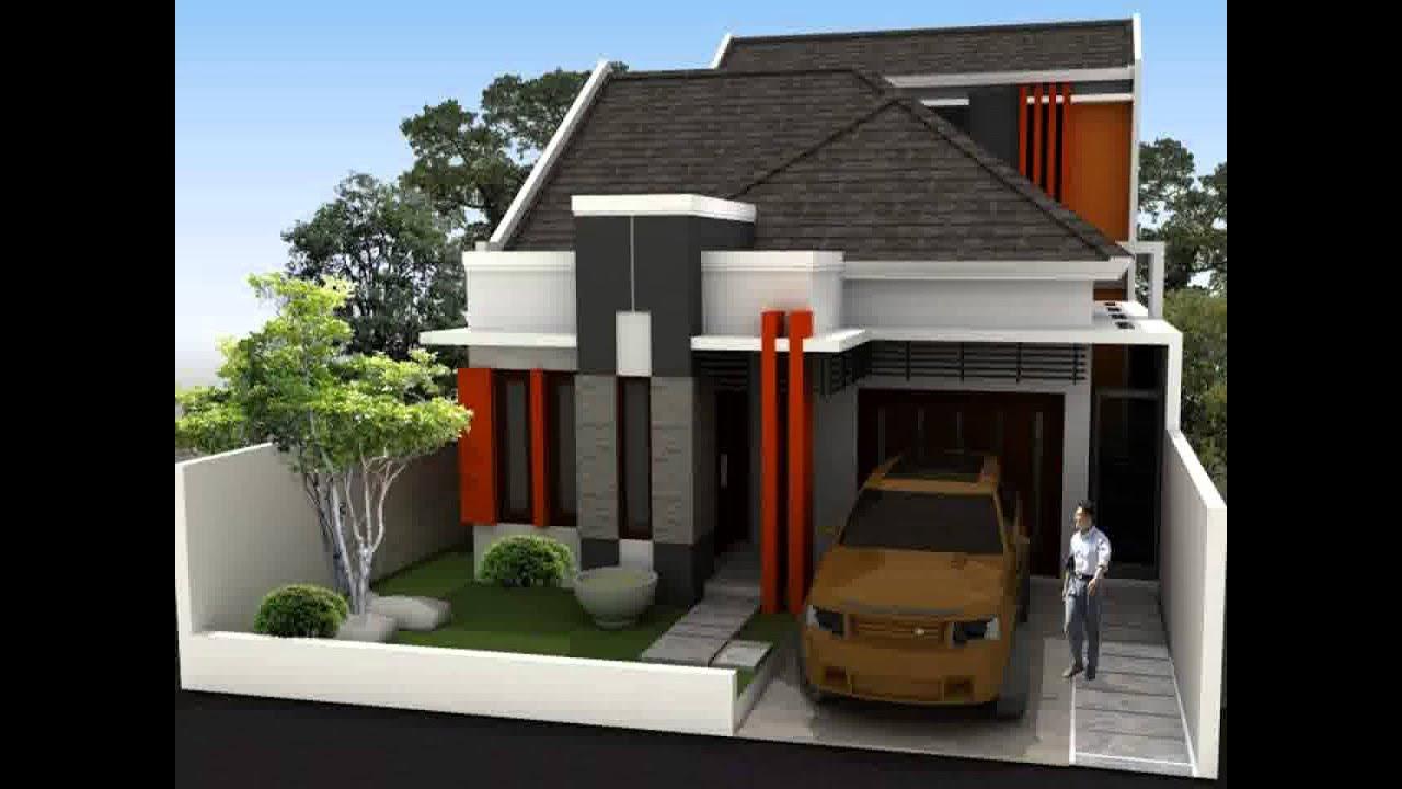 Model Rumah Minimalis 2 Lantai Lebar 5 Meter Yg Sedang Trend Saat