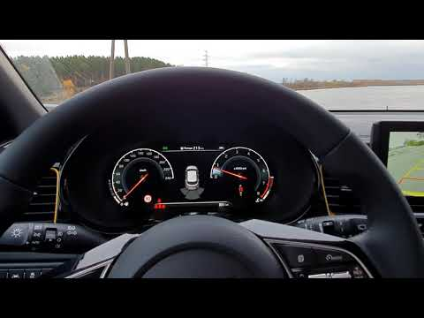 Driving Brand New Kia Xceed X Ceed, 0-100 Acceleration, Instrument Panel