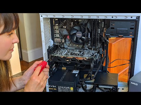 Watch us build a PC for beginners, live!