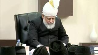 Huzur Ke Saath Tulaba Jamia Ki Nashist, 27 Nov 2010, Islam Ahmadiyya