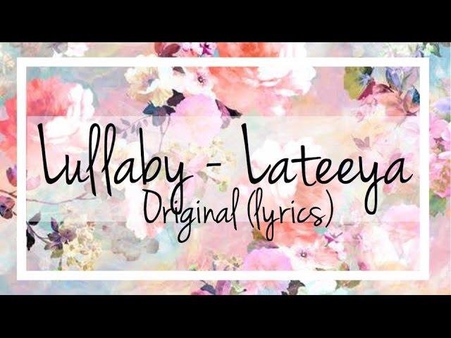 Lateeya- Lullaby (lyrics) Chords - Chordify