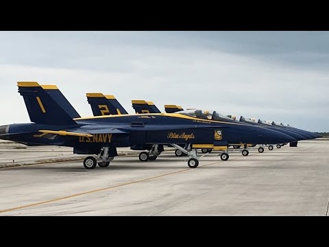 US NAVY Blue Angels at 2016 Southernmost Air Spectacular Key West, FL - 03-Apr-2016