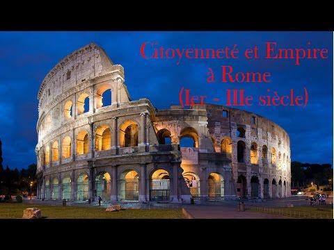 [Seconde- Histoire] Citoyenneté et Empire à Rome (Ier-IIIe siècle) - cours complet