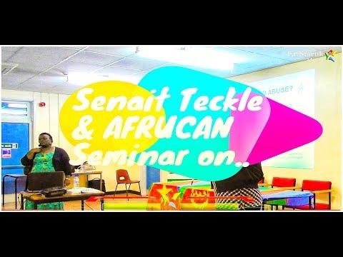 Senait Teckle & Afrucan presentation on Rights & Welfare of African Children.