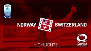 HIGHLIGHTS: Norway v Switzerland - Men - Le Gruyère AOP European Curling Championships 2018