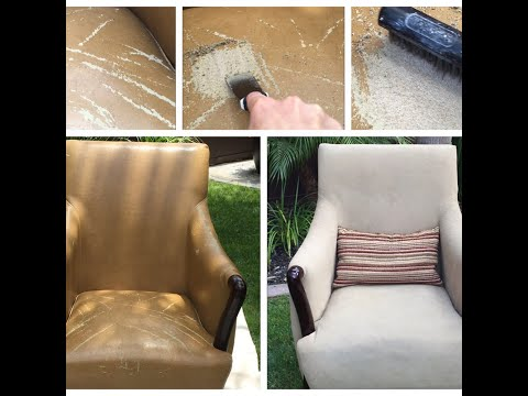 Bonded Leather Peeling Repair - Chair Fix