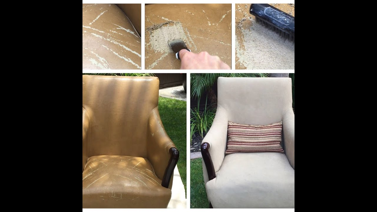 Bonded Leather Peeling Repair Chair Fix Youtube