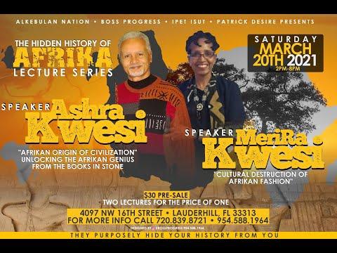 AshRa & MeriRa Kwesi: Interview Lauderhill, Florida | 20 March 2021
