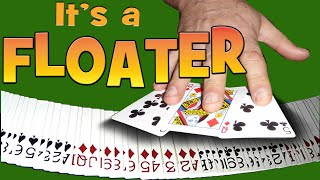 Floating Card Trick | Easy to Do Beginner Magic | A Close up Levitation Magic Effect
