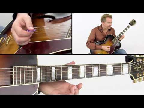 Western Swing Guitar Lesson - The 5-Of Rule - Raymond Nijenhuis