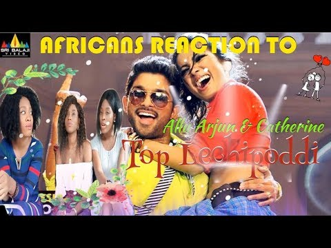 Iddarammayilatho Songs | Top Lechipoddi Video Song | Allu Arjun Reaction video by the Miller sisters