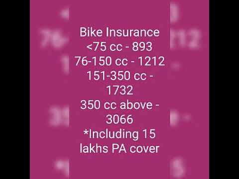 Thired party insurance and personal accident cover