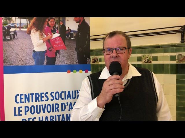 Interview de Dominique Mielle, président du centre social de Bavans (Doubs)