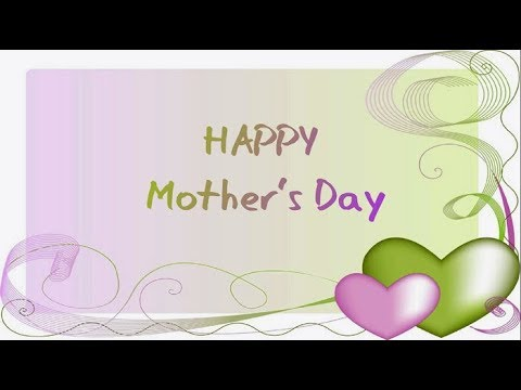 Mother's Day  2018 Poems || Mother's Day Poems from Son & Daughter