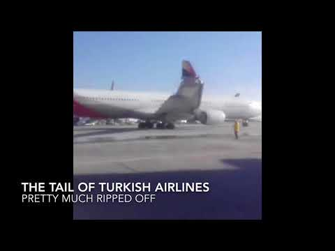 Of Wingtips And Tails ASIANA Plane clips Tail of Turkish Airlines