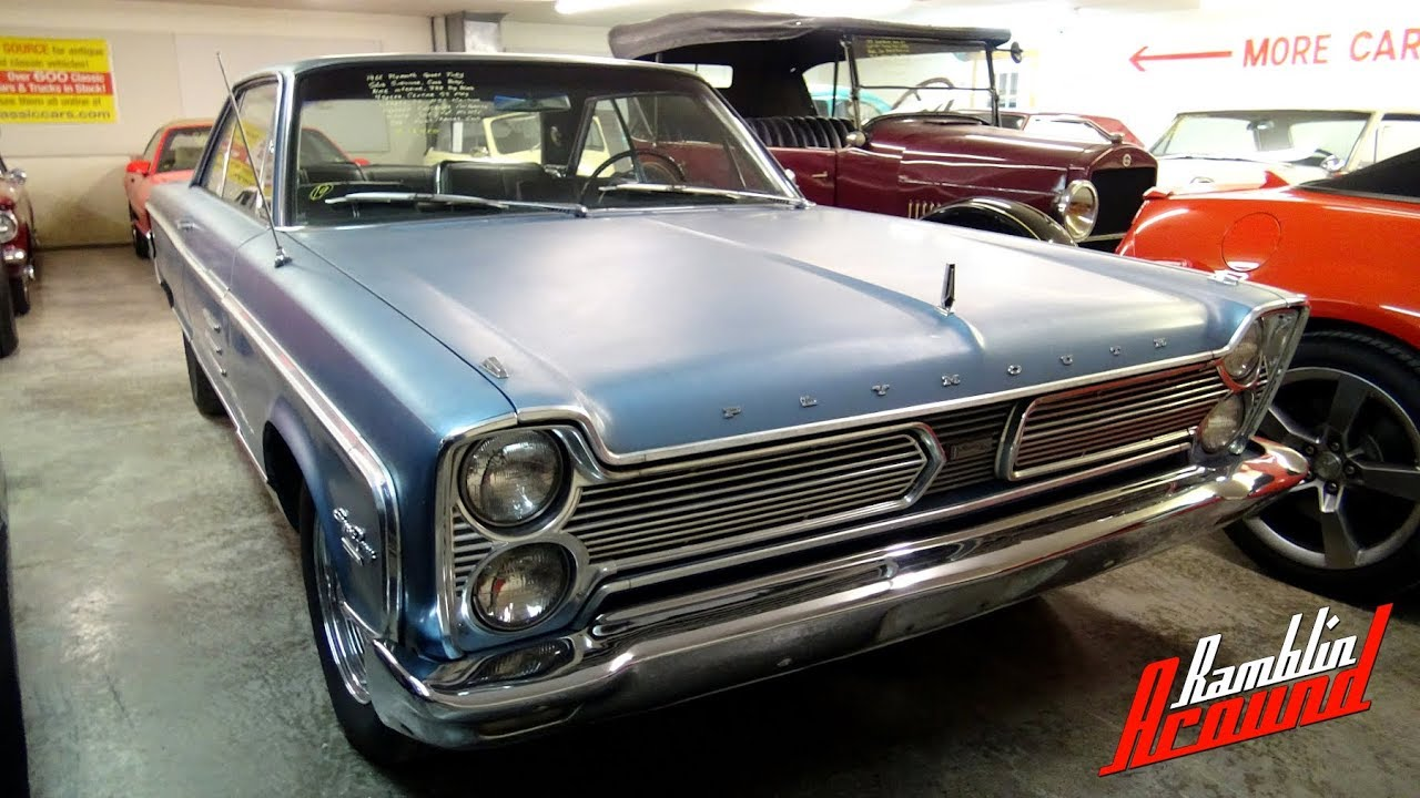 1966 Plymouth Sport Fury 383 V8 4 Spd At Country Classic Cars