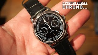 Corniche Heritage Chronograph Watch Review - A classy Dress Piece Under $500