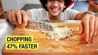 One of Alex French Guy Cooking's most viewed videos: I Learned How They Chop Onions On The Street...