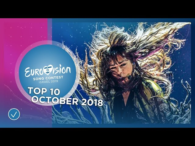 TOP 10: Most watched in October 2018 - Eurovision Song Contest
