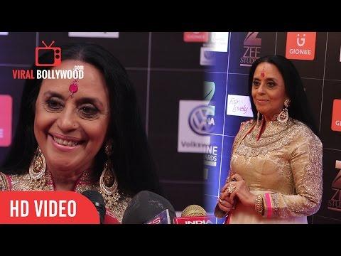 Ila Arun At Zee Cine Award 2017 | Viralbollywood