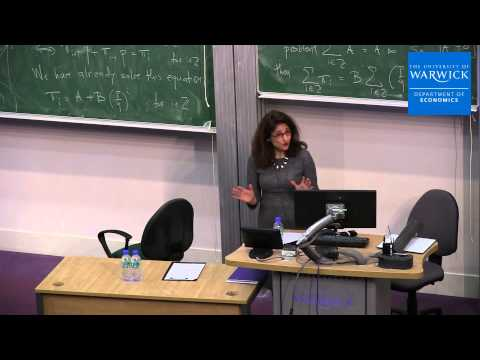 Minouche Shafik (Bank of England) | Lecture