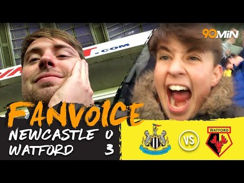 Newcastle 0-3 Watford   Hughes, Yedlin and Gray goals meant Watford destroy Newcastle 0-3   FanVoice