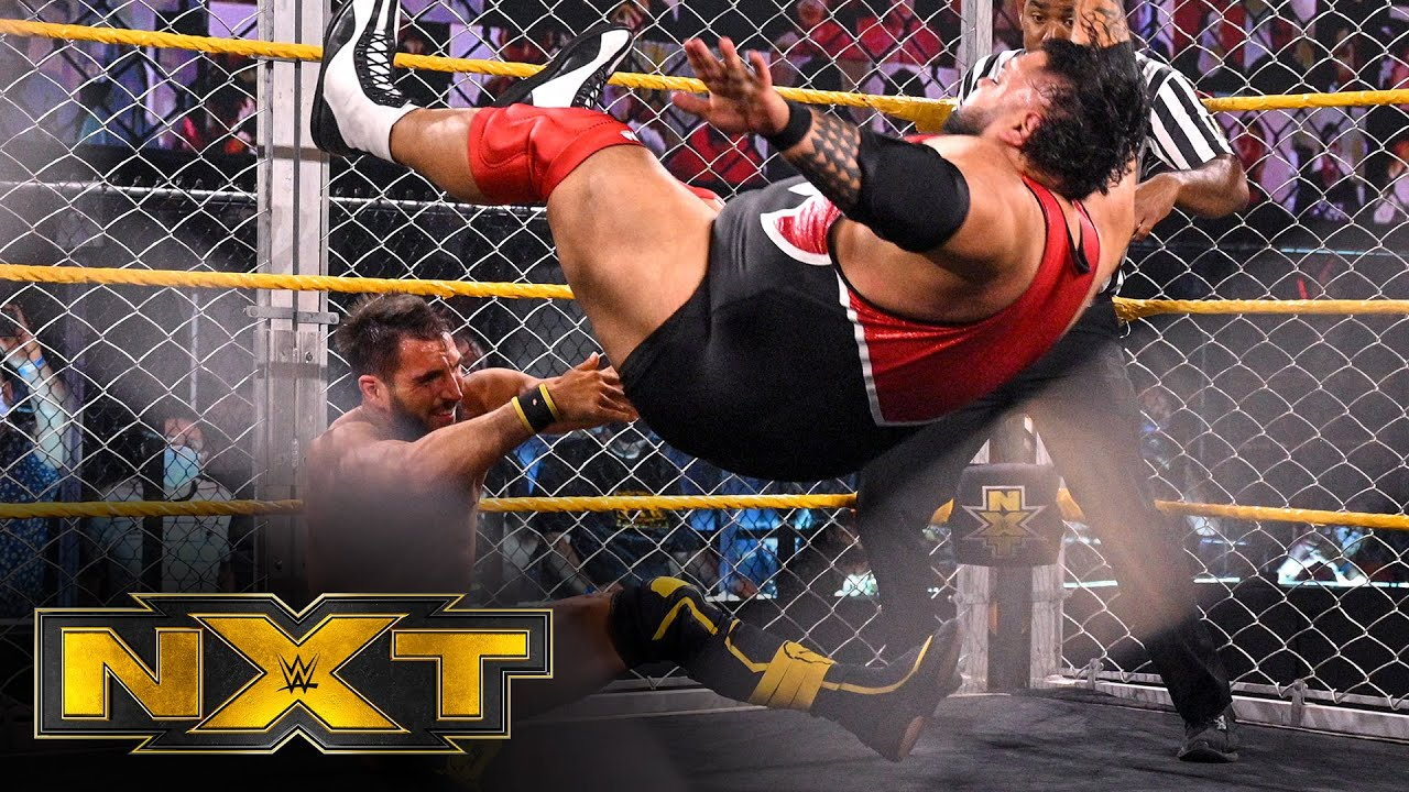 Johnny Gargano vs. Bronson Reed – NXT North American Title Steel Cage Match: WWE NXT, May 18, 2021