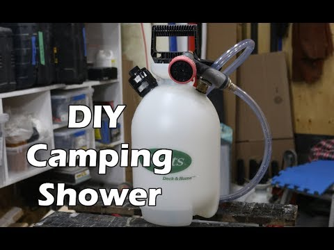 Portable Shower for Camping and Surfing thumbnail