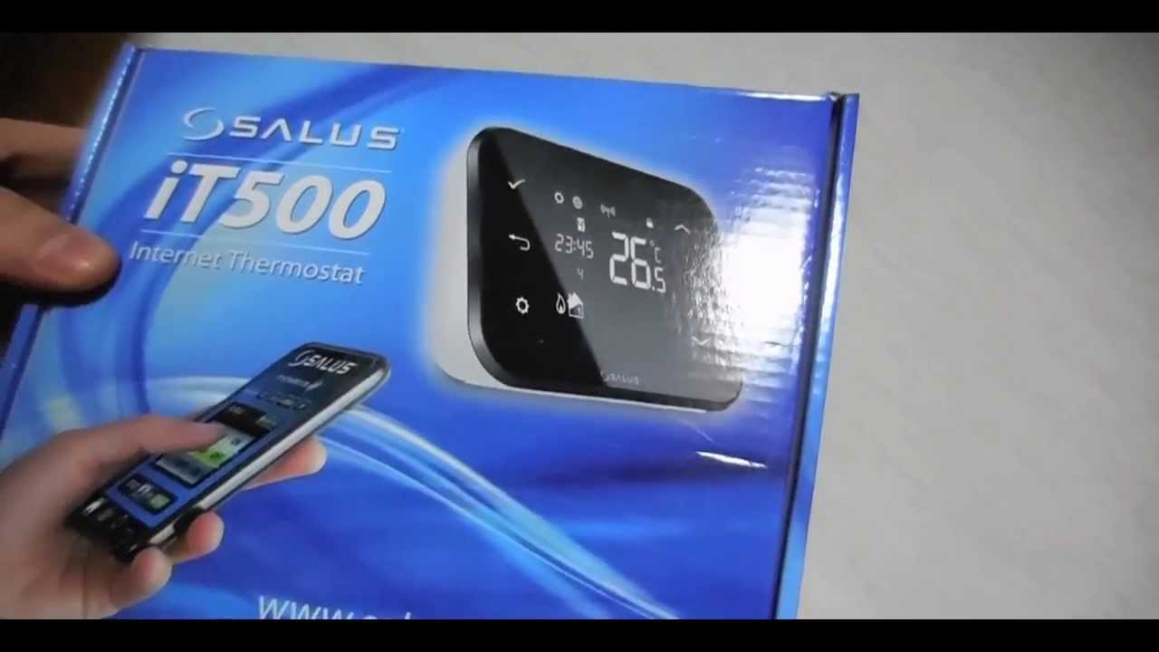 Salus It500 Best Internet Controlled Smart Thermostat For