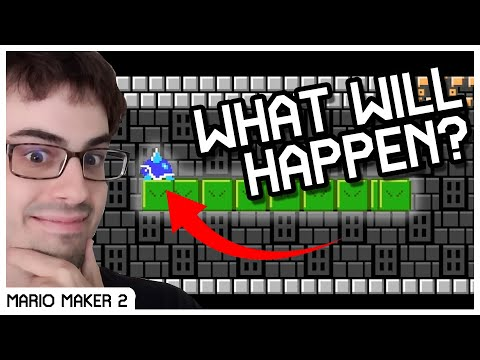 Unobtainable Ending,  Hyperspeed Glitch, Import Glitch, and More Mario Maker 2 Tricks and Glitches!