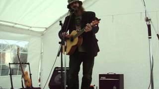 Summer and Lightning by Peter Hackett at Tipton Canal Festival 2014