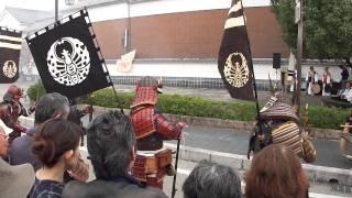 矢掛本陣大名まつり・・・岡山藩 鉄砲隊その三