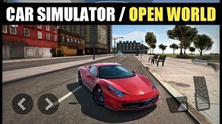 Top 3 High Graphic Car Simulator Games For Android | Open World |