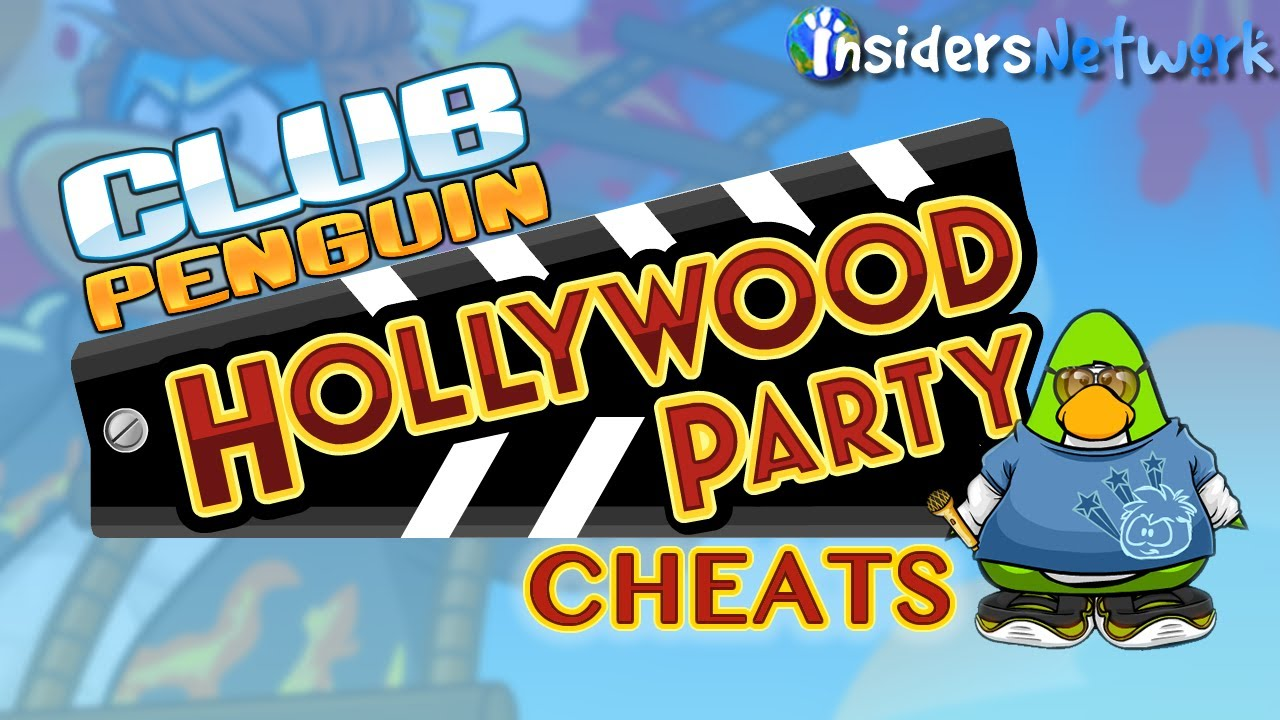 Club Penguin: Hollywood Party Walkthrough - YouTube