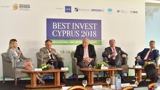 "Best Invest Conference 2018. Panel Discussion ""What to expect from Cyprus in the nearest future"""