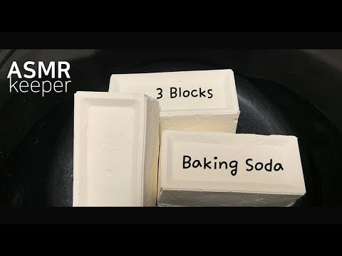 ASMR Satisfying and Relaxing Compilation #19 | Baking Soda Crunchy | Anxiety Relief & Sleep Aide