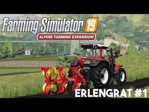 First time in Alp | Farming Simualator 19 Alpine Farming Expansion |