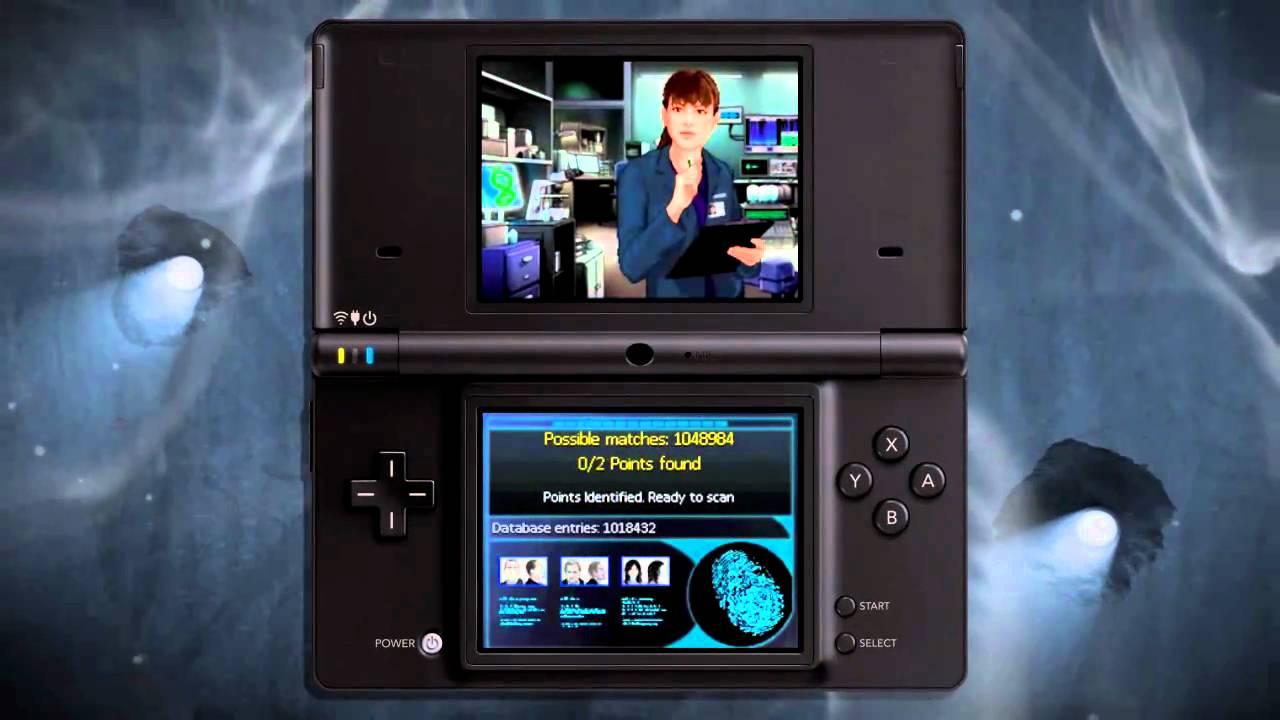 Nintendo Ds Walkthrough CSI Unsolved for...