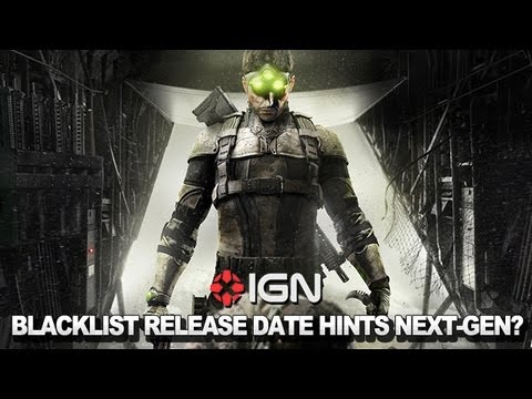 Talking Splinter Cell - Blacklist's Release Date Hints At Next-Gen Timing