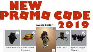 NEW!!! Roblox promo code! [100% WORKING!!!] Get All 4 ITEMS