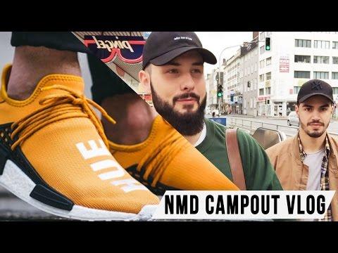 Adidas NMD Human Race X Pharrell Williams CAMPOUT VLOG   Saint Moré