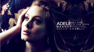 Adele - Set Fire to the Rain (Selena Gomez Mix) NEW! 2012