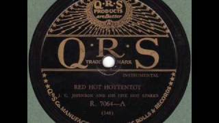 J. C. Johnson & His Five Hot Sparks - Red Hot Hottentot QRS 7064 Hot Jazz