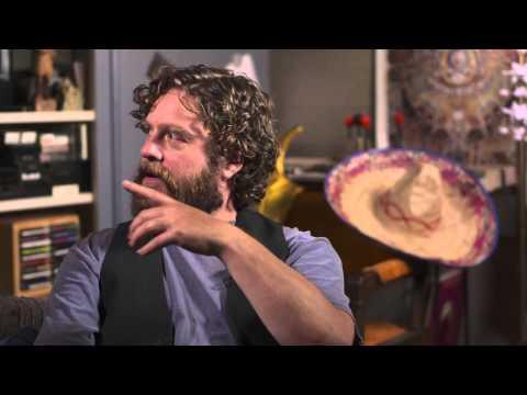 Are You Here: Zach Galifianakis  Movie Intervie