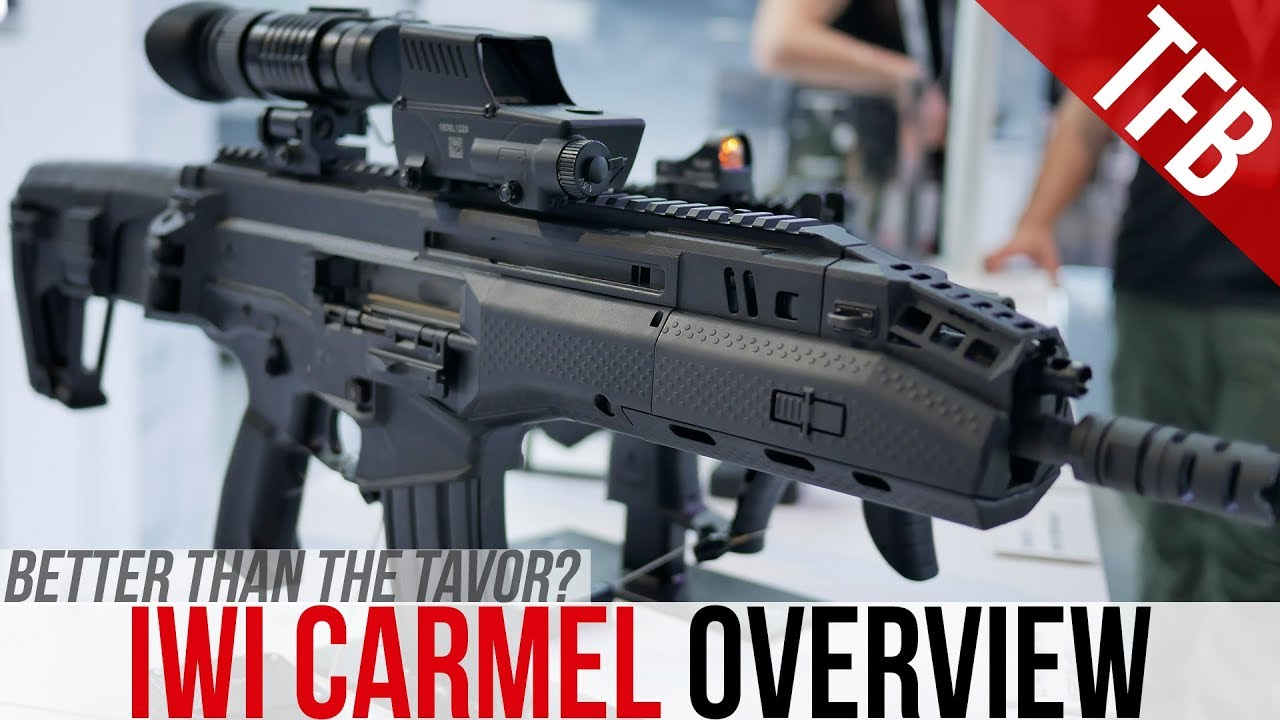 Israel's New Battle Rifle From IWI: The Carmel