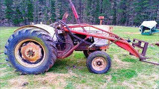 Vintage DB990 Tractor for $500.. Will it Run??