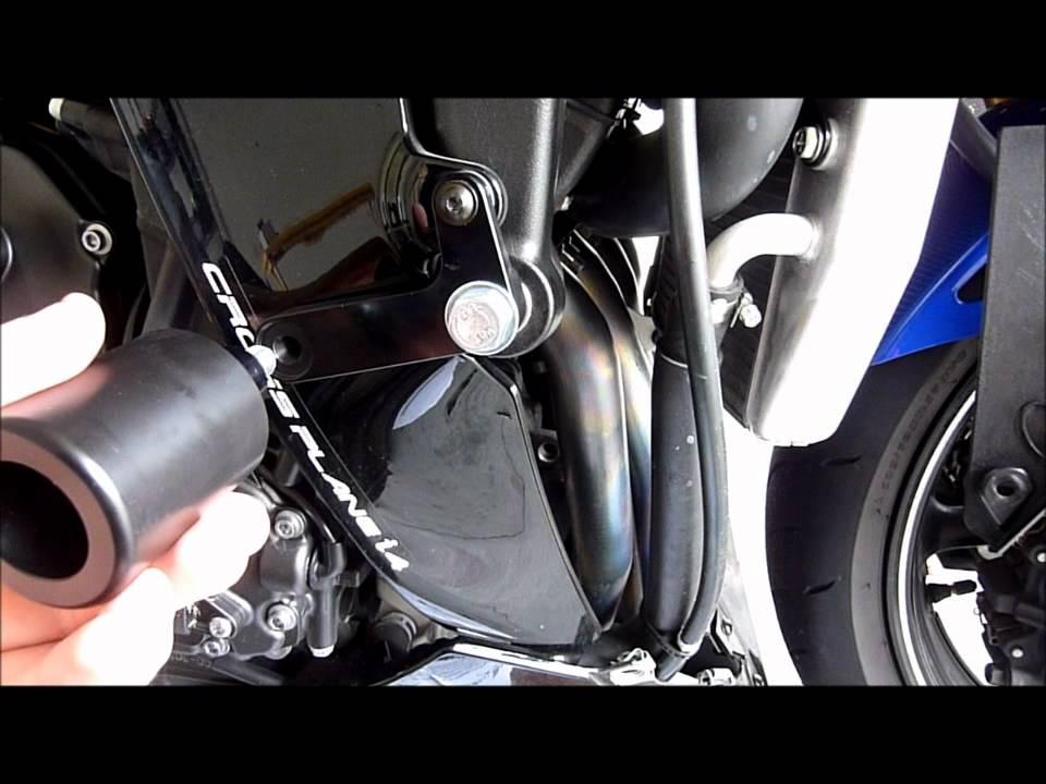 2009 Yamaha YZF-R1 - Frame/Clutch Sliders, Turn Signals Install ...