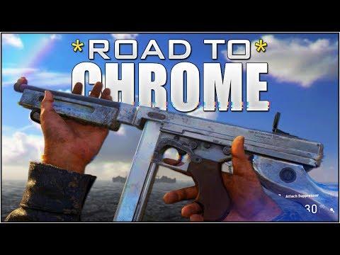 "UNLOCKING ""DIAMOND CAMO"" SHOTGUNS [3/4] in CoD WW2! (Call of Duty WORLD WAR 2 CHROME CAMO)"